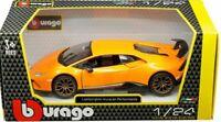 Lamborghini Huracan, Performance, Orange, Burago 1/24