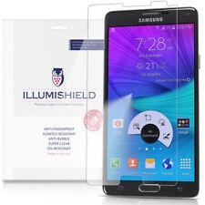iLLumiShield Screen Protector w Anti-Bubble/Print 3x for Samsung Galaxy Note 4