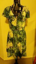 NEW Water Lily Ruffle dress, size 12-14