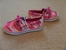 Sperry Boys sizes 2.5-4 UK Halyard Red Boat Shoes
