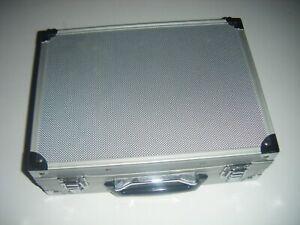 Intec Aluminum Silver Hard Metal Storage Carry Case For Game Boy Advance GBA Gun