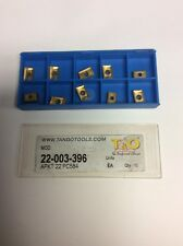 T&O APKT22 PC584 CARBIDE INSERT - TNO-22-003-396  QTY 10