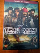 Pirates of the Caribbean: On Stranger Tides (Blu-ray/DVD, 2011, 2-Disc Set) NEW