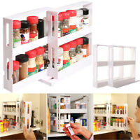 Slim Slide Out Kitchen Trolley Rack Holder Storage Shelf Organiser Household AU