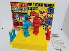 Rock'em Sock'em Robots Mattel Vintage Original 2012 Classic Game incomplete.