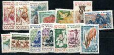 MAURITANIE 1960 160-176 ** POSTFRISCH TADELLOS SATZ (09693