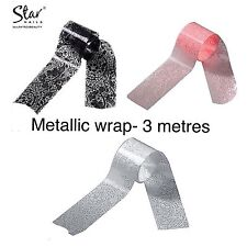 Star Nails Metallic wrap (3 Metres)