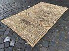Wool rug, Turkish rug, Vintage rug, Handmade rug, Area, Carpet | 3,5 x 6,1 ft