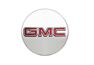 2017-21 GMC Acadia/Canyon Center Cap Brushed Aluminum Finish w/GMC Logo 19351700