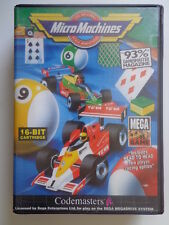 Mega Drive-MICRO MACHINES 1 (PAL) (con imballo originale) 10820841