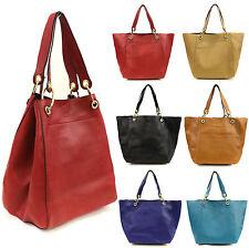 Ladies Designer Large Tote Handbag with Inner Small Satchel Bag