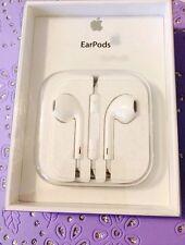 NUOVO con scatola Apple EarPods nella confezione di vendita Auricolari con telecomando + microfono MD827ZM/A