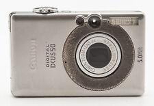 Canon Digital IXUS 50 Kompaktkamera Digital Kamera Camera