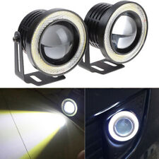 "3.0"" Fog Light COB LED Projector White Angel Eye Halo Ring DRL Bulb for Ford New"