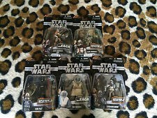 (#3) STAR WARS THE SAGA COLLECTION LOT OF 5 NEW FIGURES Foul moudama Cody