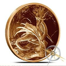 Nidhoggr Nordic Creatures 1 OZ .999 Fine AVDP Copper Round Bullion (Coin - 39MM)