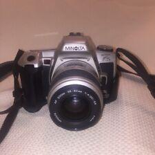 Minolta Maxxum HTsi Plus 35mm SLR Film Camera w/ 35-80mm f/4-5.6 AF Lens & Case