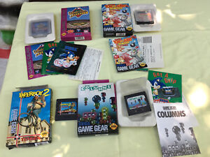 sega game gear gamegear games paperboy II columns tom and jerry world series lot