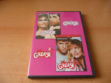 Doppel DVD Grease & Grease 2 - John Travolta + Olivia Newton-John Michelle Pfeif