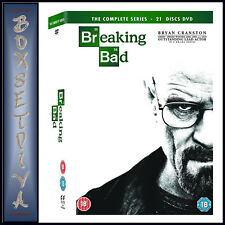 BREAKING BAD - THE  COMPLETE SERIES COLLECTION  *BRAND NEW DVD BOXSET*