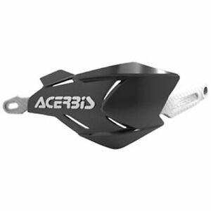Acerbis X-Factory Handguards Black/White Honda Kawasaki KTM Yamaha Suzuki