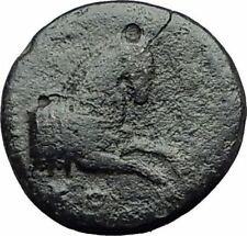 Kolophon Colophon IONIA 360BC Authentic Ancient Greek Coin APOLLO & HORSE i63081