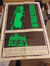 "Julie Harris The Haunting Teaser 27x41"" One-Sheet Movie Poster N1863"