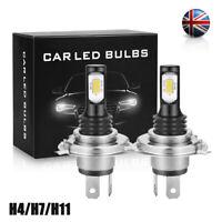 H11 H4 H1 H7 LED Headlight Bulbs 110W 20000LM Fog Lights Driving Lamp DRL 6000K