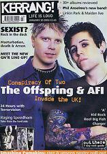 OFFSPRING / AFI / A / KID ROCK / REEL BIG FISH / CHARGERKerrang 83620Jan 2001