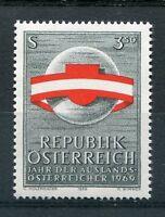 AUTRICHE - 1969, timbre 1136, DRAPEAU, AUTRICHIENS à l' ETRANGER, neuf**
