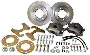 1947-59 CHEVY TRUCK FRONT DISC BRAKE CONVERSION WHEEL KIT, 6-LUG