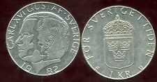 SUEDE   1 krona  1982  ( bis )