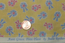 """AUNT GRACE """"FIRST PLACE"""" QUILT FABRIC CIRCA 1930's BY THE YARD MARCUS 4478-D333"""