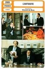 L'ANTIDOTE - Clavier,Villeret,Soral,Morel,Russo,De Brus (Fiche Cinéma) 2005