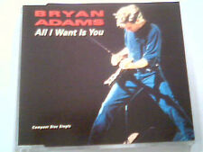 "BRYAN ADAMS - MAXI CD ""ALL I WANT IS YOU"""