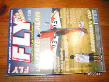 ,, Fly n°125 + 3 posters / Raptor 50 Taxi III Micra Raven Easy Glider F-20