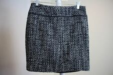 Kenneth Cole Wool Blend Multi-Colored Lined Pencil Mini Skirt Size - 4