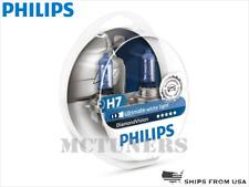 NEW! PHILIPS Diamond Vision H7 Headlight halogen bulbs 12972DVS2 POLAND x2