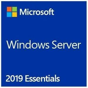 Microsoft Windows Server Essentials 2019 64 Bit English G3S-01299 Brand New