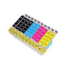 KIT 10 Cartucce Compatibili con Epson stylus dX4400, DX4450, DX7400, DX7450