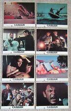 CAIMAN ORIGINAL 1981 U.S. RELEASE SET OF 8 MINI LC's 8X10 BARBARA BACH EX