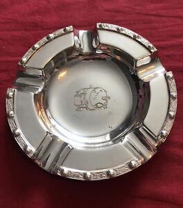 Vintage Silver Plated Ashtray By Adie Bros. - Brook Motors Ltd. c.1960's