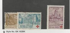 Finland, Postage Stamp, #B9-B11 Mint & Used, 1932