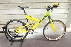 "Cannondale Super V 700 Frame 19.5"" 3x9 Mavic Shimano XT Full Suspension Bike"