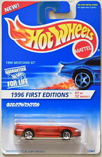 Hot Wheels 1996 First Editions Mustang Gt Red