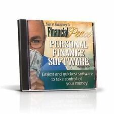 NEW! Dave Ramsey's Financial Peace Personal Finance Software CD-ROM Verion 5.3
