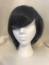 Gray Blue Black Bulter Ciel  Phantomhive Cosplay Wig