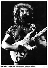 "Grateful DEAD Poster ""Jerry Garcia Copenhagen 1972"""