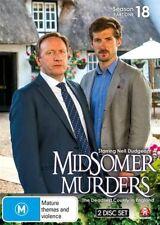 Midsomer Murders Season 18 Eighteen Part 1 One DVD NEW Region 4