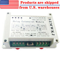5-30V Multi-function 2 Channel 4 Way Relay Extension Module 40A Relay Controller